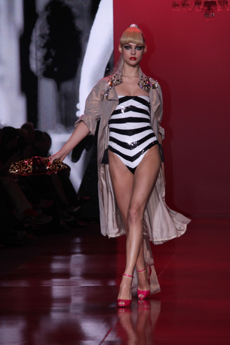 Barbie fashion show at New York fashion week
