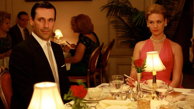 Betty and Don from Mad Men