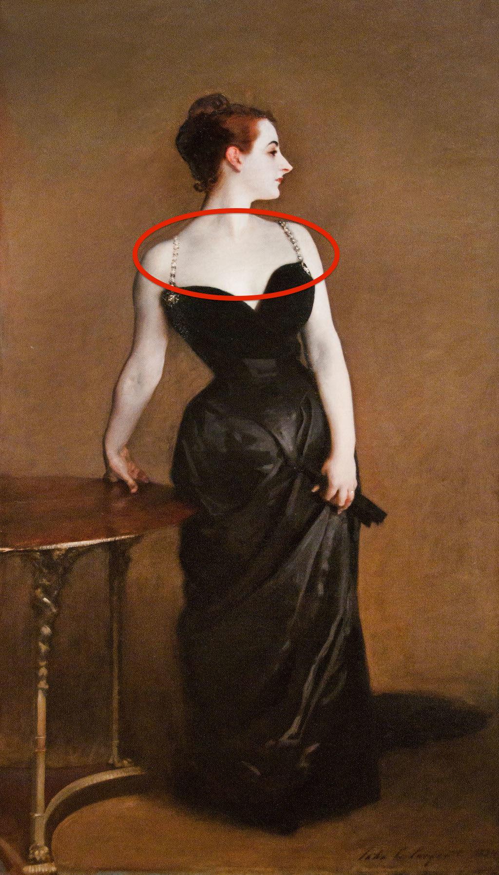 CTP67X Madame X Madame Pierre Gautreau 1883 John Singer Sargent American United States of America