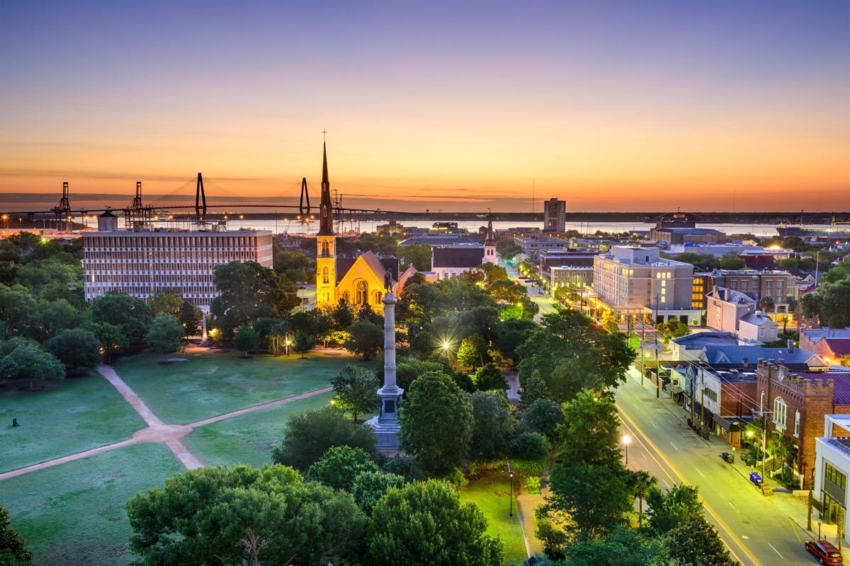 Marion Square in Charleston, SC