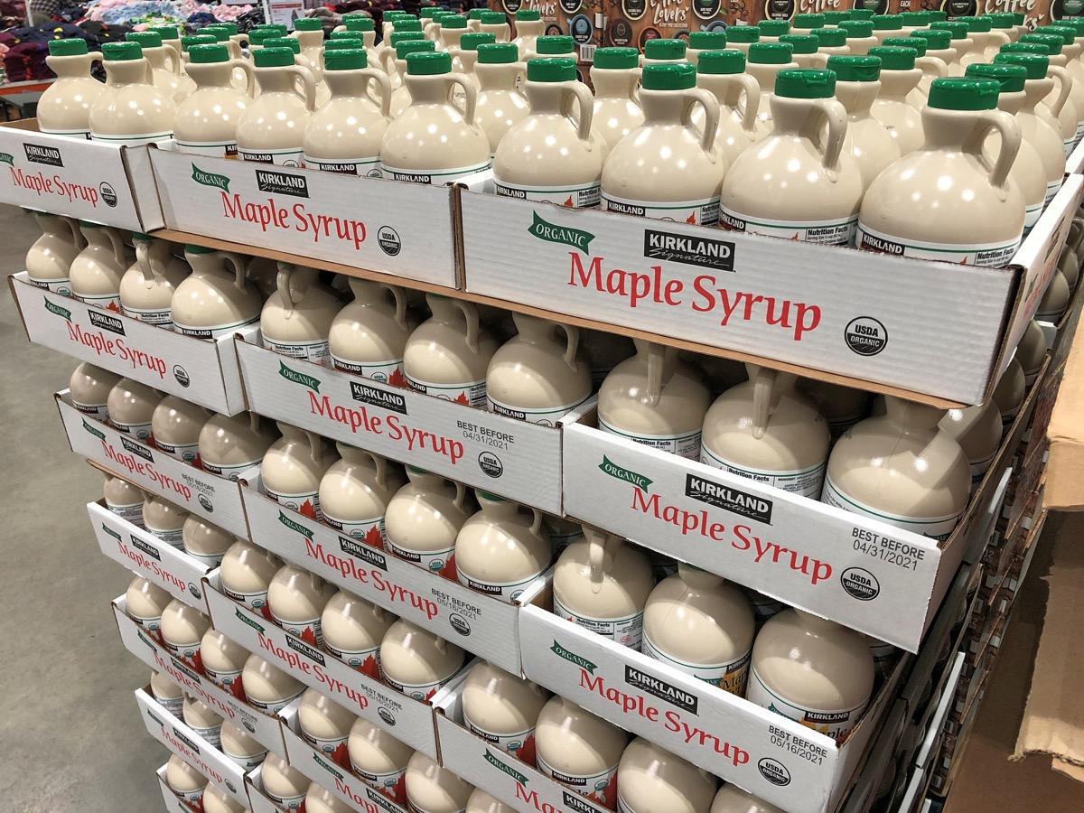 Costco maple syrup in bulk