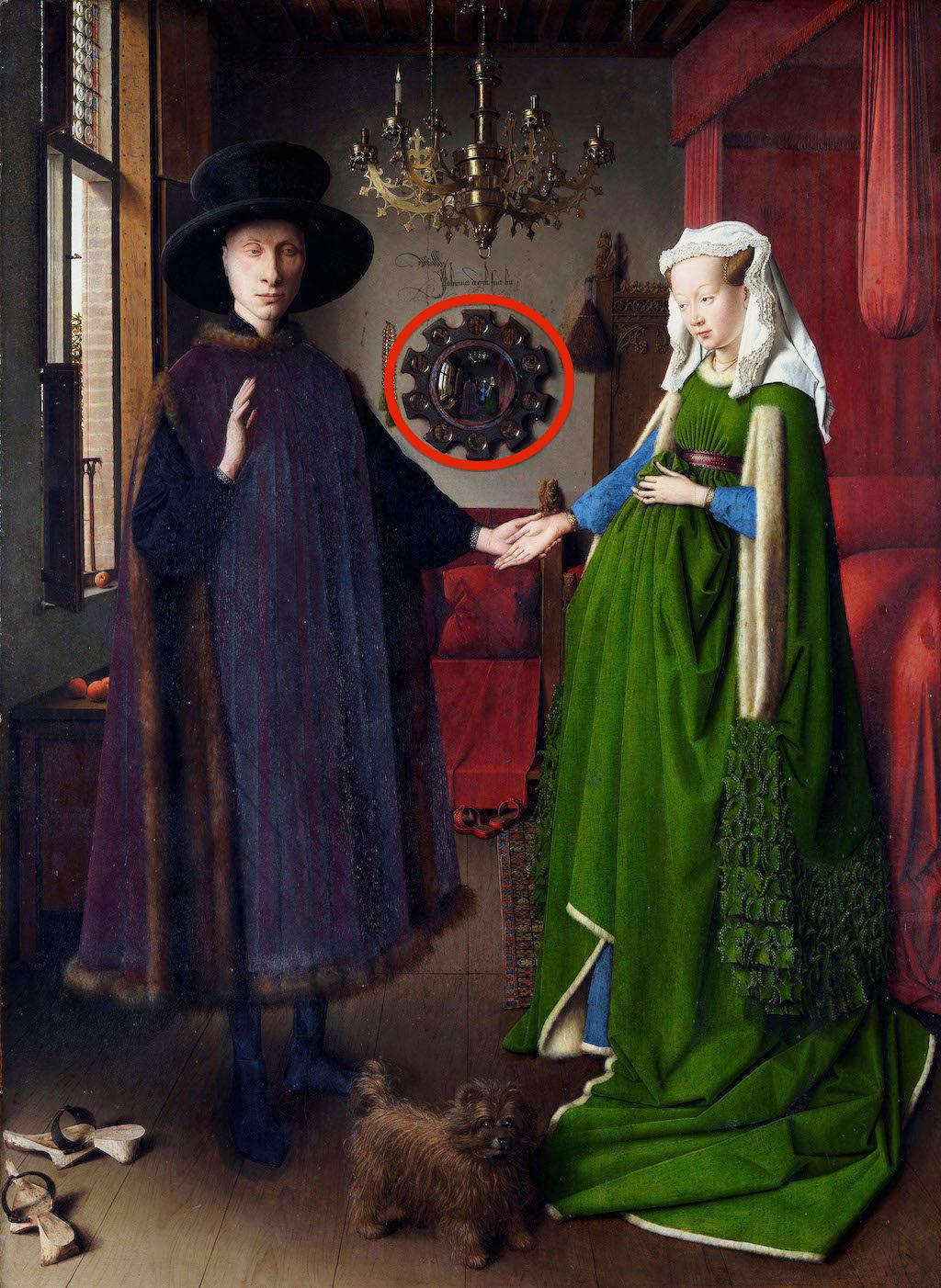 DHXB1X The Arnolfini Portrait - by Jan van Eyck, 1434