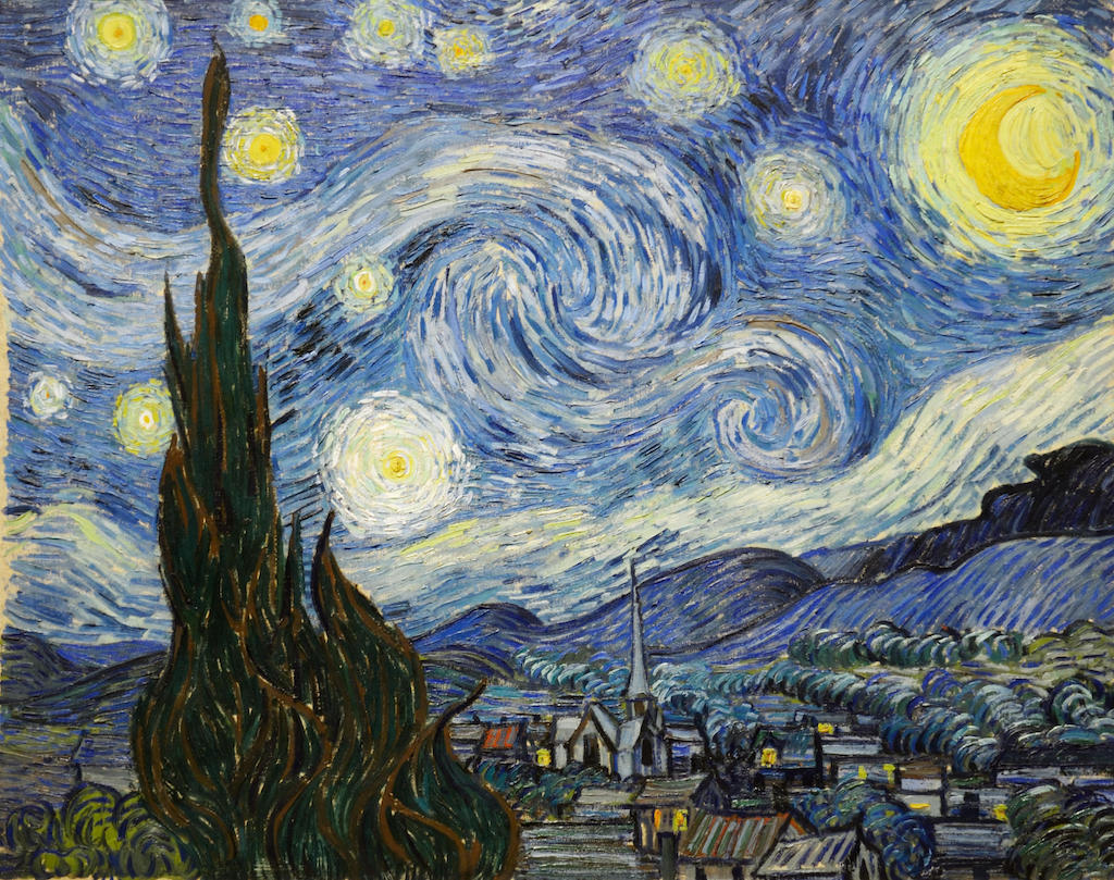 GHFCP7 The Starry Night, 1889, Vincent Van Gogh