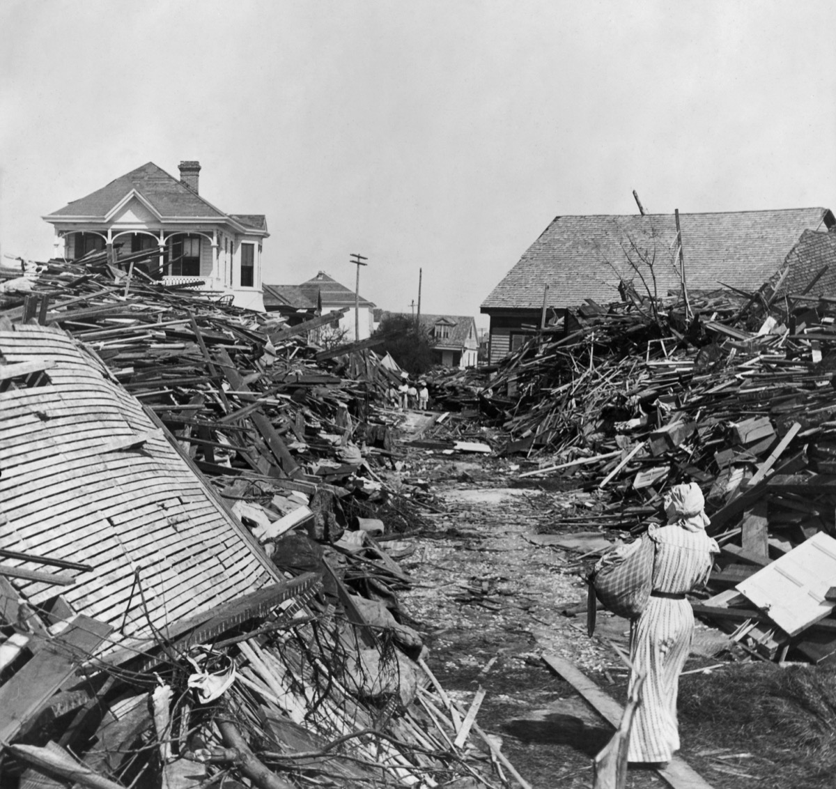 Galveston, Texas storm - hurricane facts