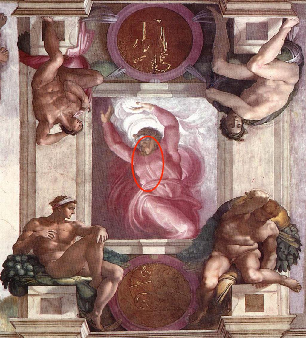 HN2510 Michelangelo, Separation of Light from Darkness 00