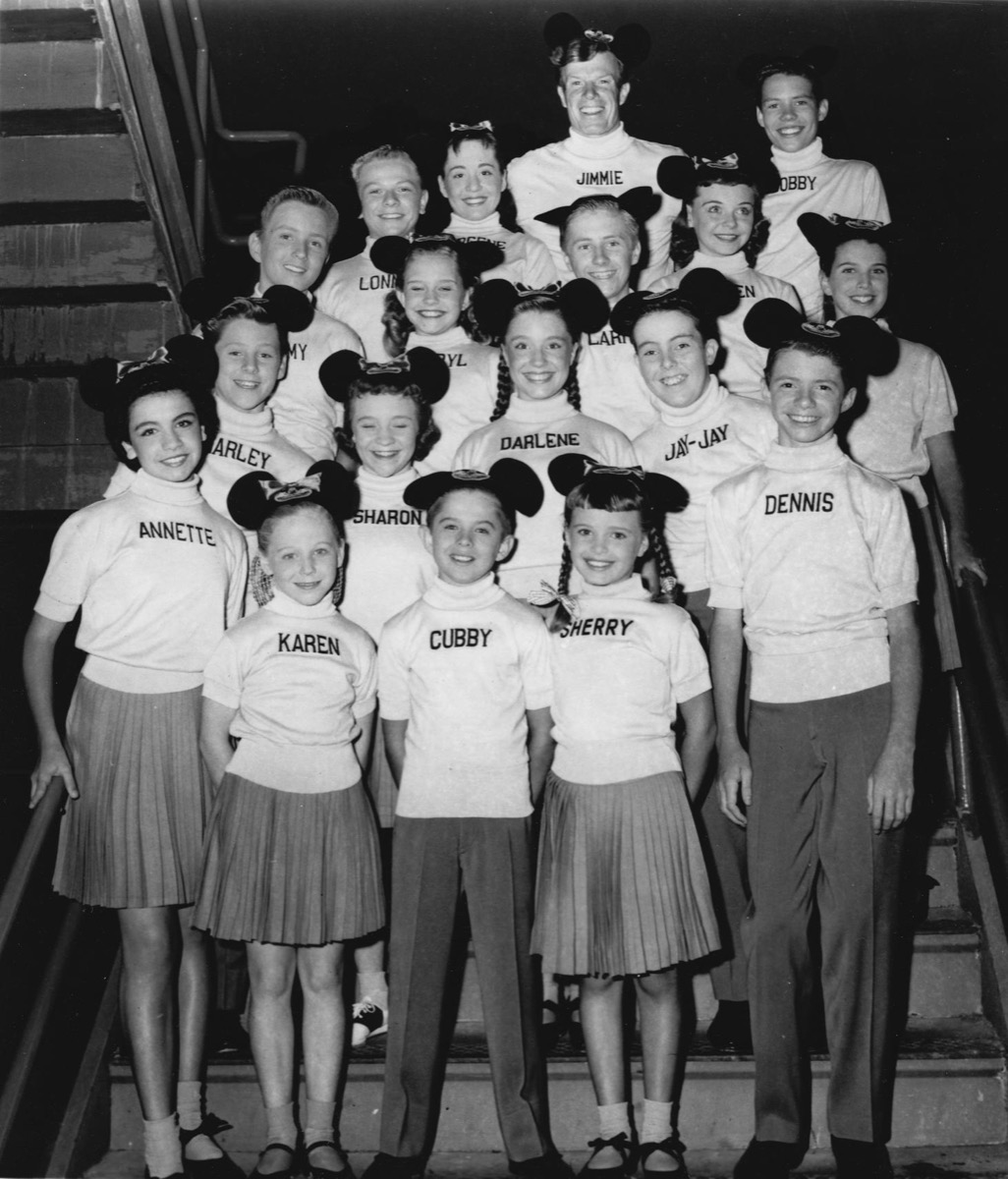 Mickey Mouse Club Mouseketeers 1957