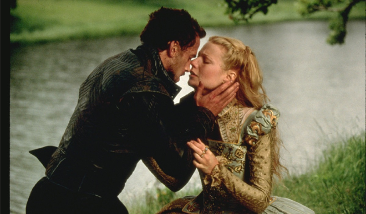 Gwyneth Paltrow and Joseph Fiennes in Shakespeare in Love (1998)