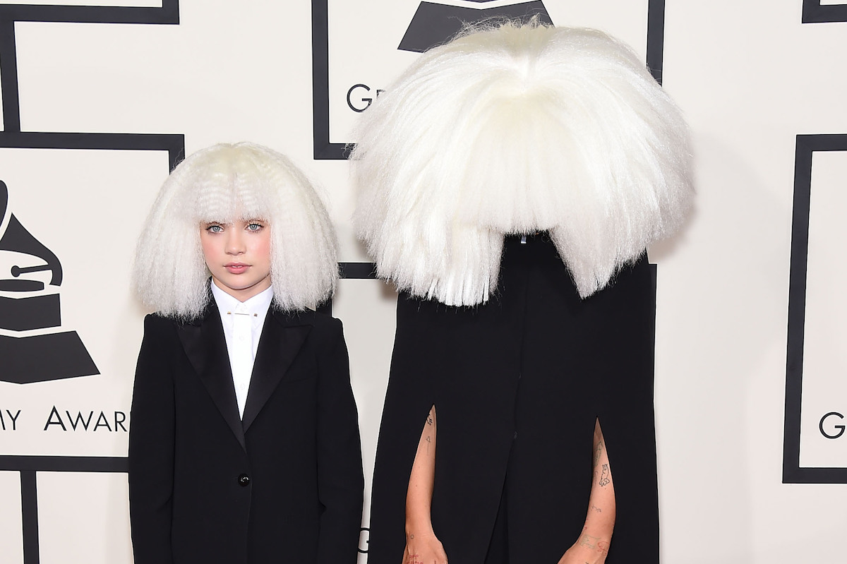 Sia and Maddie Ziegler at Grammys