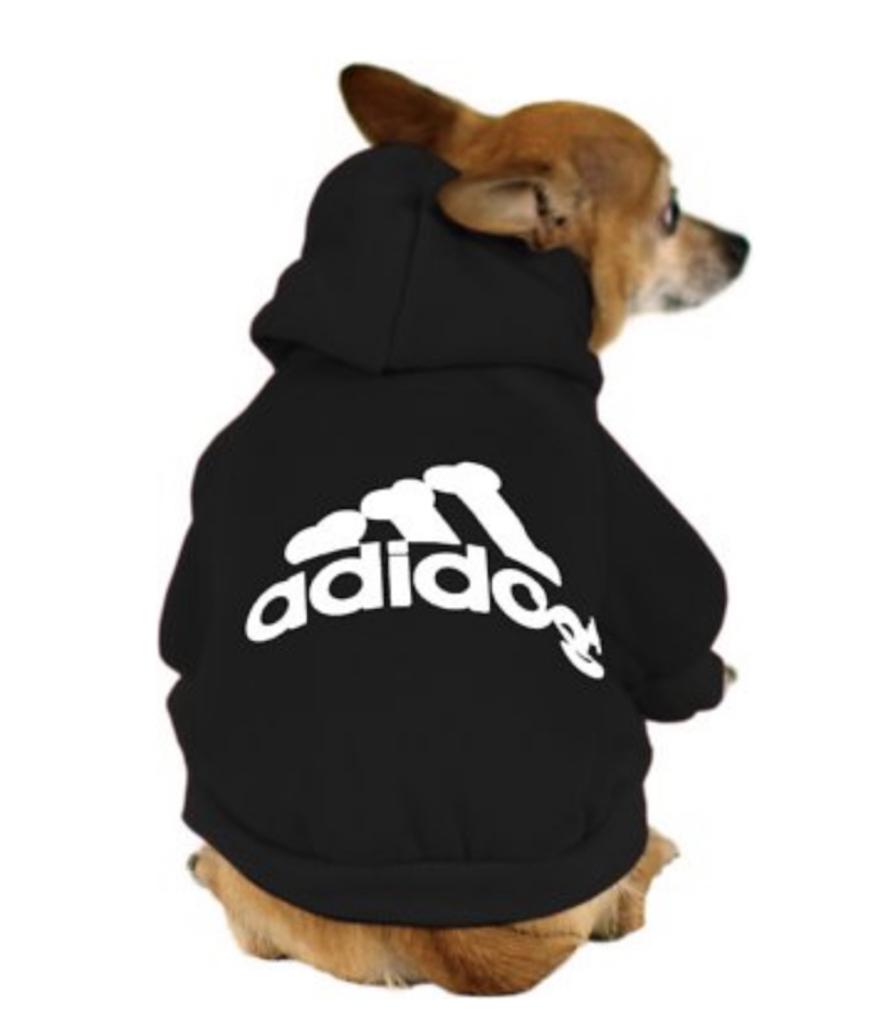 Adidog Dog hoodie adorable dog outfits