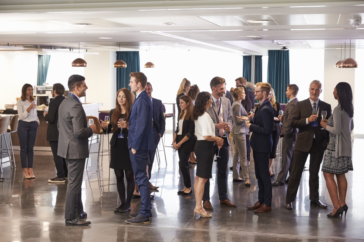 Adults at a Networking Event {Risks You Should Take}