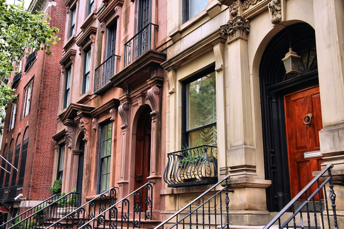 Brownstones New York City most popular house styles