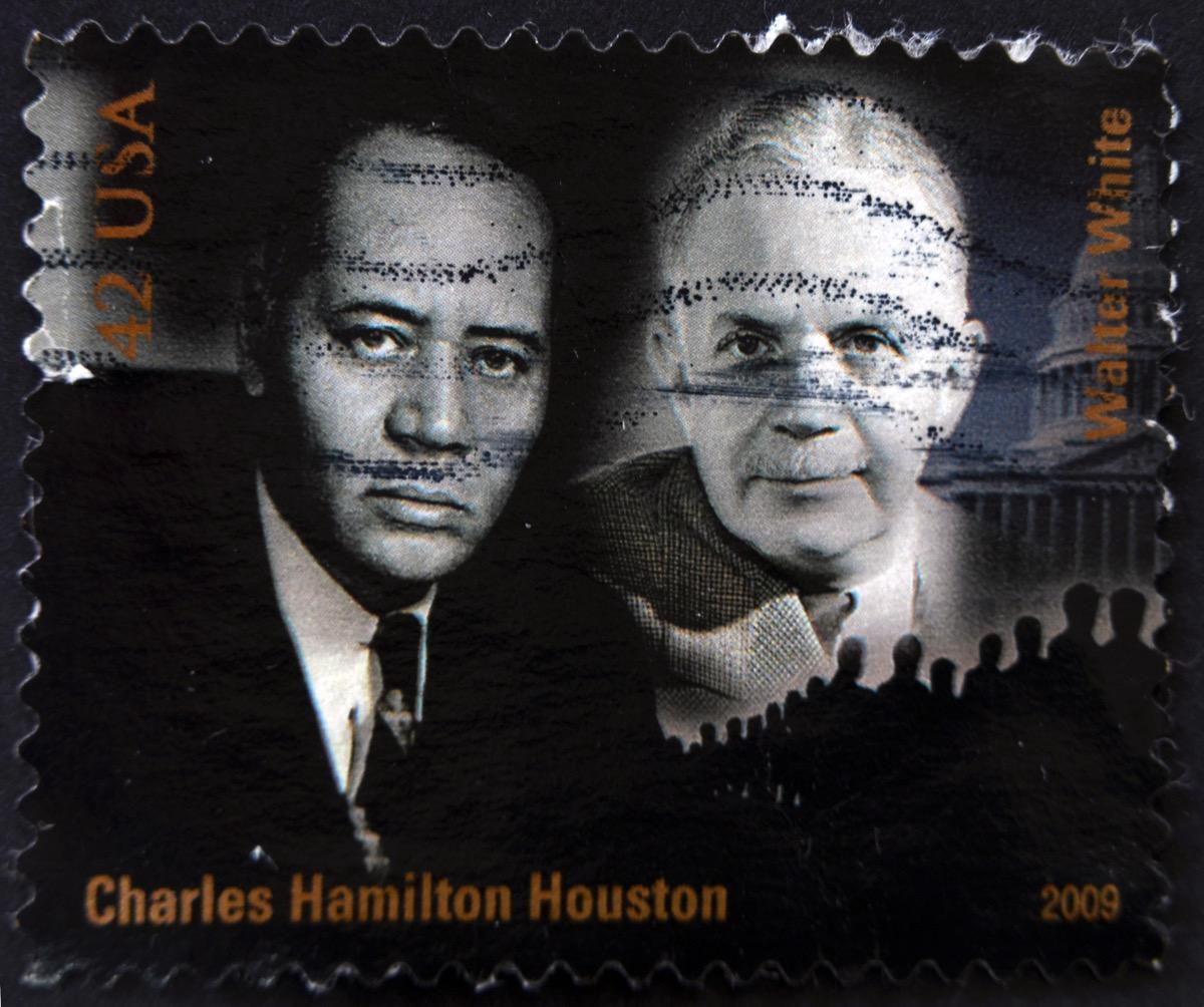 charles hamilton houston stamp