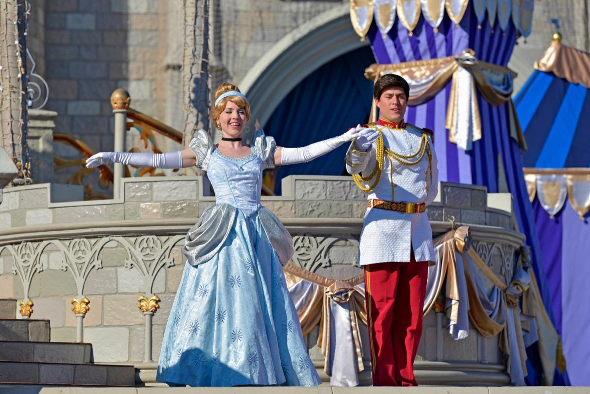 Cinderella at Disney World