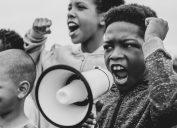 civil rights protesting child