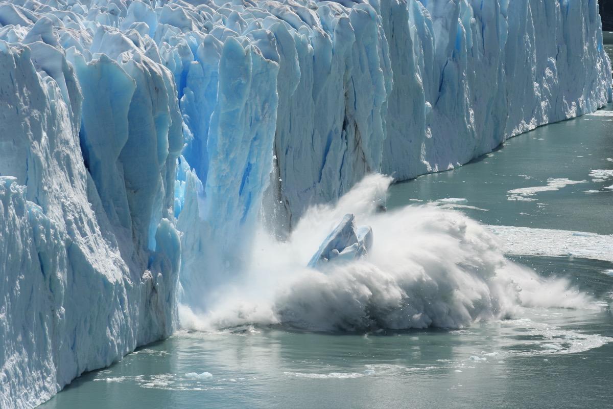 climate change iceberg - hurricane facts