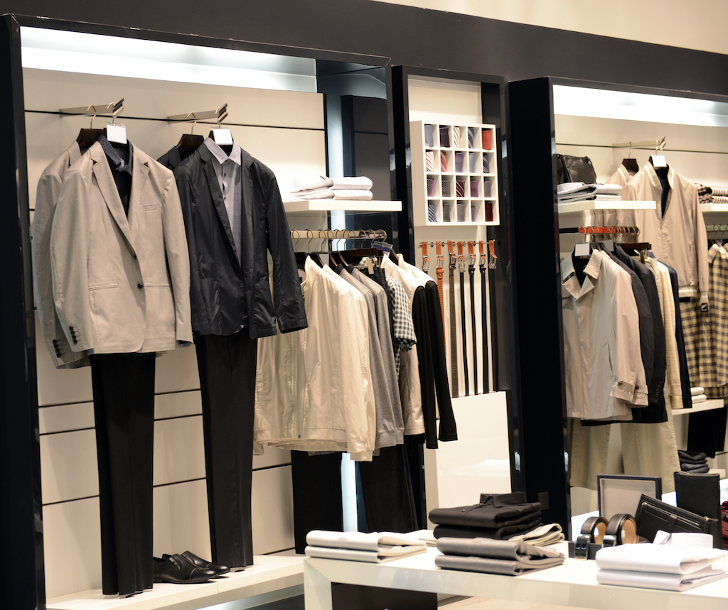 Clothing sets in store Retail Store Layouts