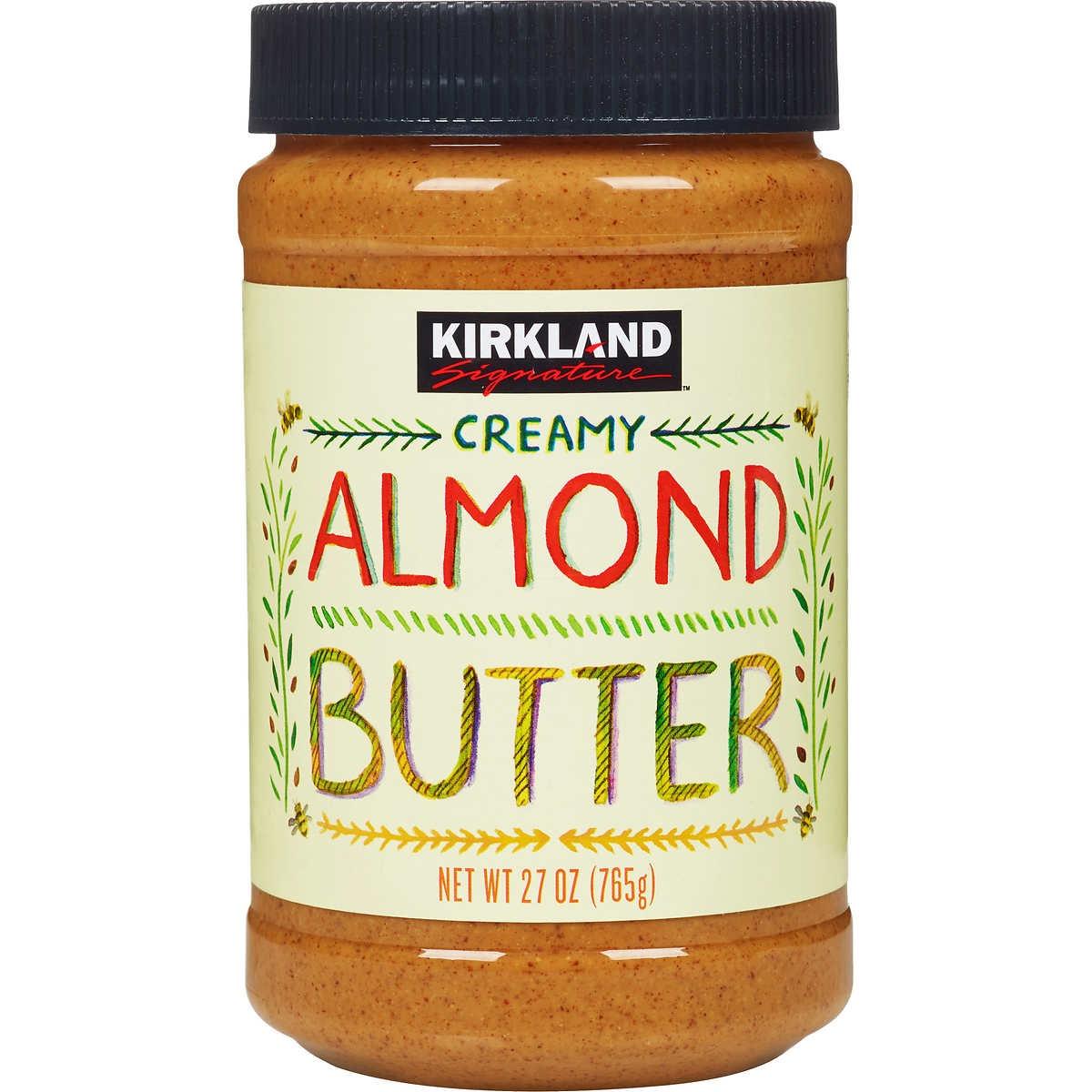 Costco Kirkland Almond Butter {Costco Store-Brand}