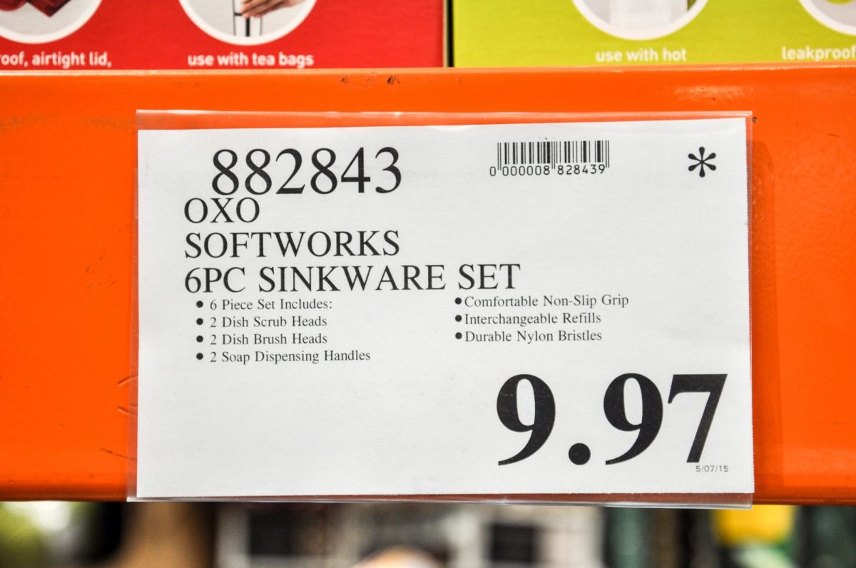 Costco Sign with an Asterisk {Costco Shopping Secrets}