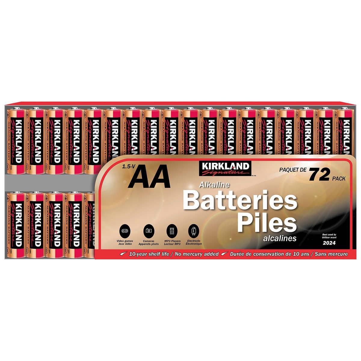 Costco AA Batteries {Costco Store-Brand}