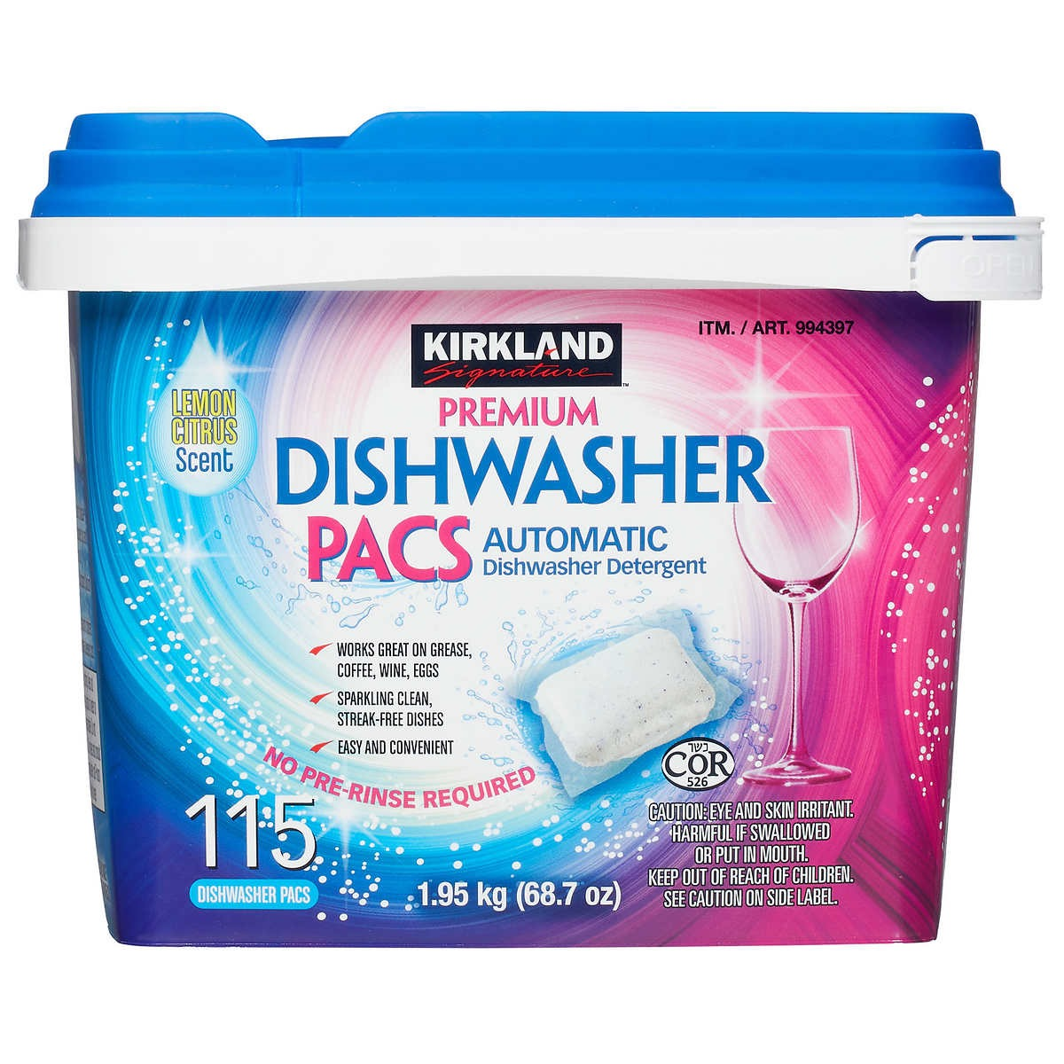 Costco Dishwasher Pacs {Costco Store-Brand}