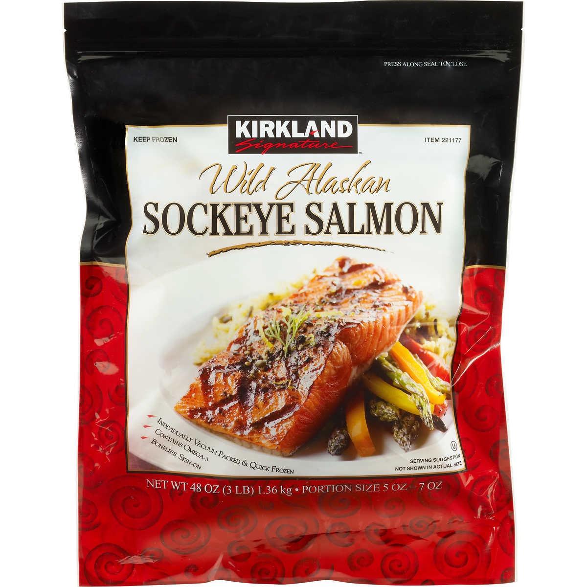 Costco Salmon Filets {Costco Store-Brand}