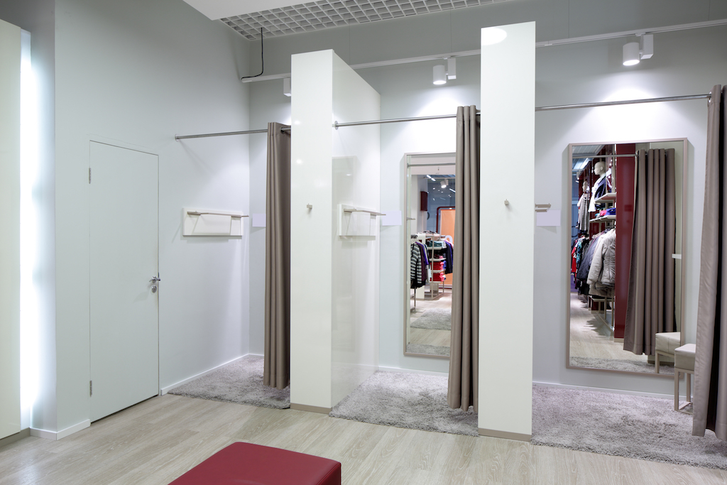 Dressing room in store Retail Store Layouts Designed to Trick You