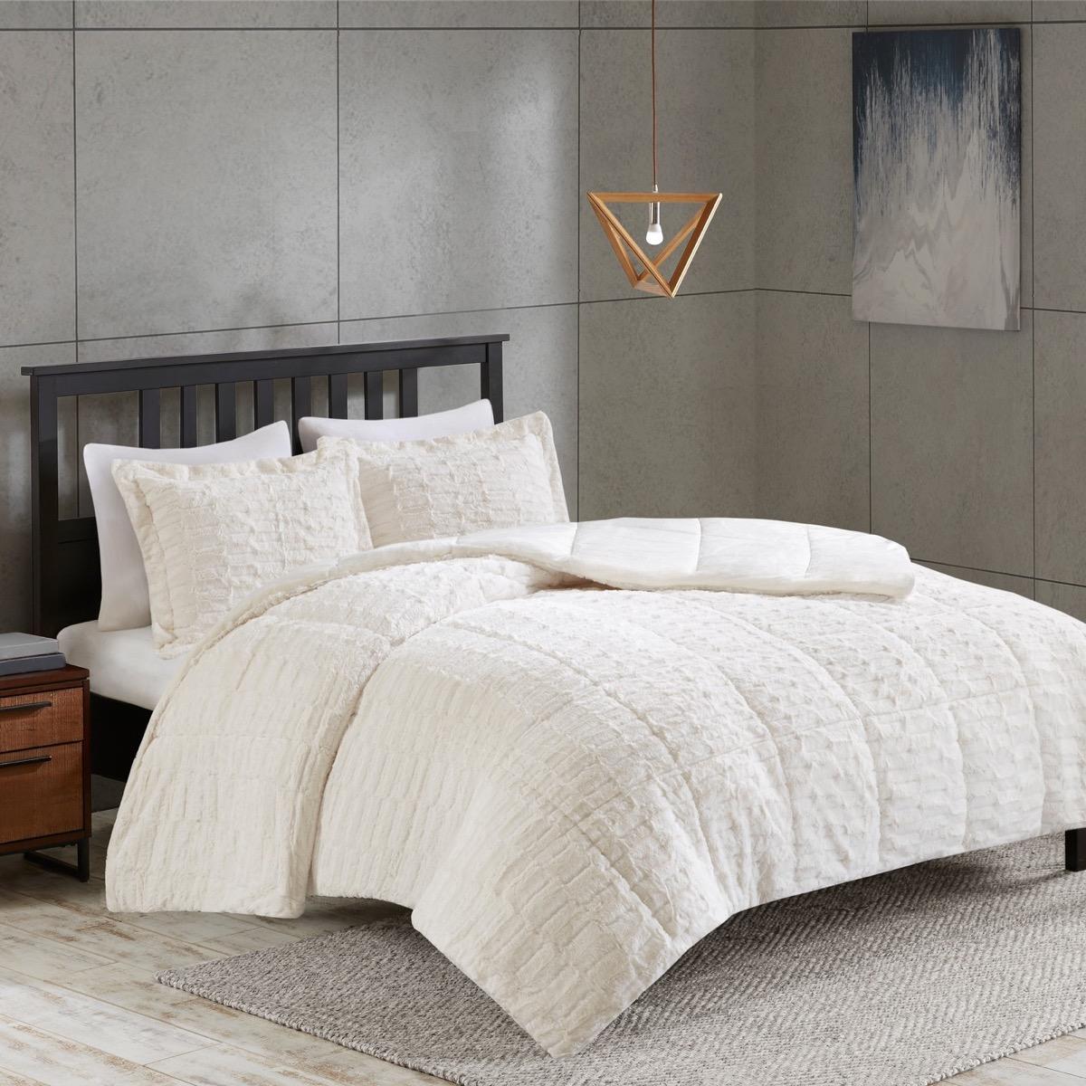 Faux Fur Bedding Set {Target Winter Essentials}