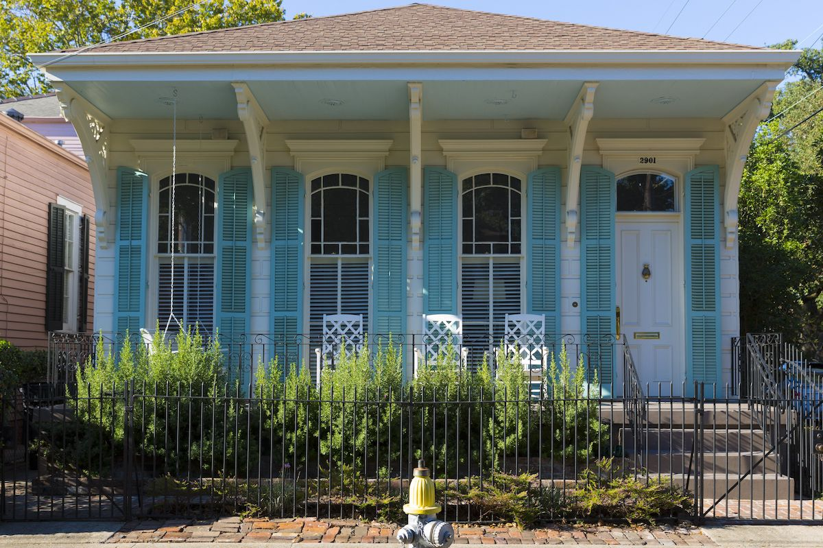 French Creole House Louisiana most popular house styles