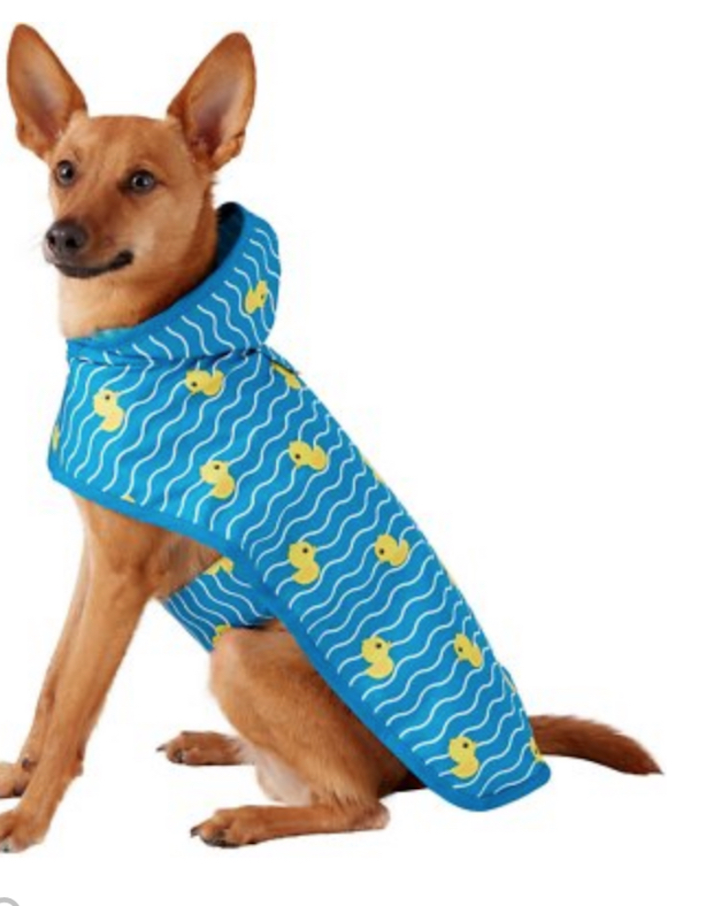 Frisco Rubber Duckie Raincoat adorable dog outfits