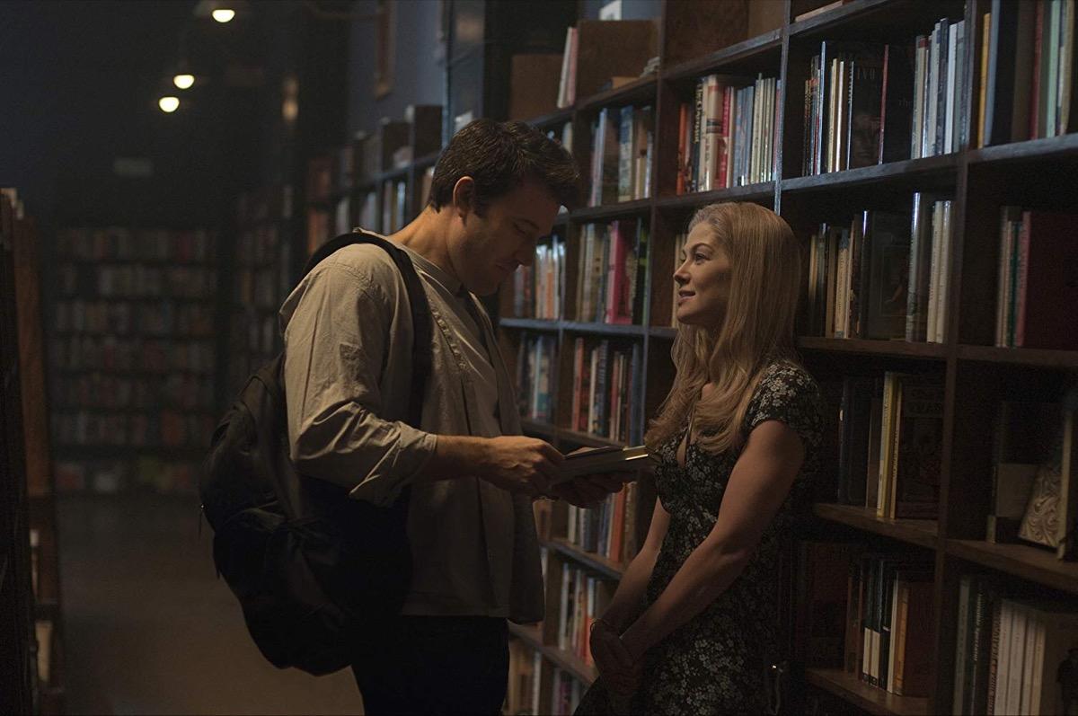 Ben Affleck and Rosamund Pike in Gone Girl (2014)