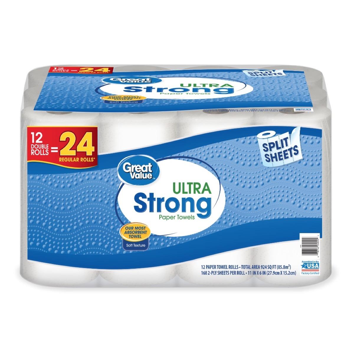 Great Value Paper Towel Rolls