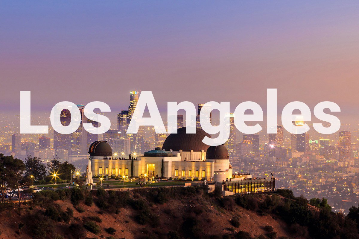 griffith observatory los angeles skyline
