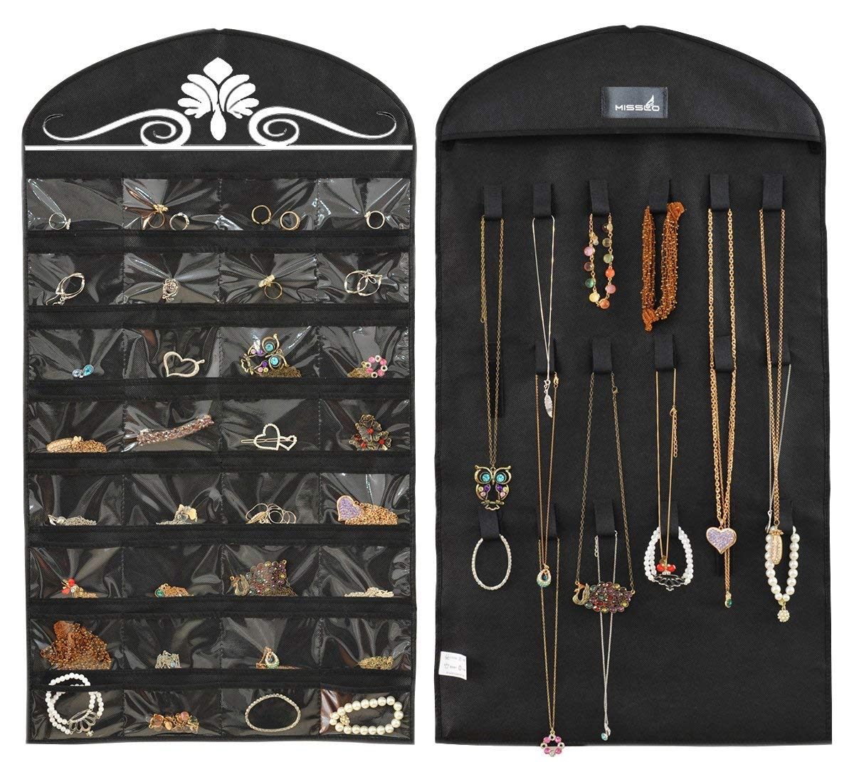Hanging Jewelry Organizer For the Closet {Organizational Products on Amazon}