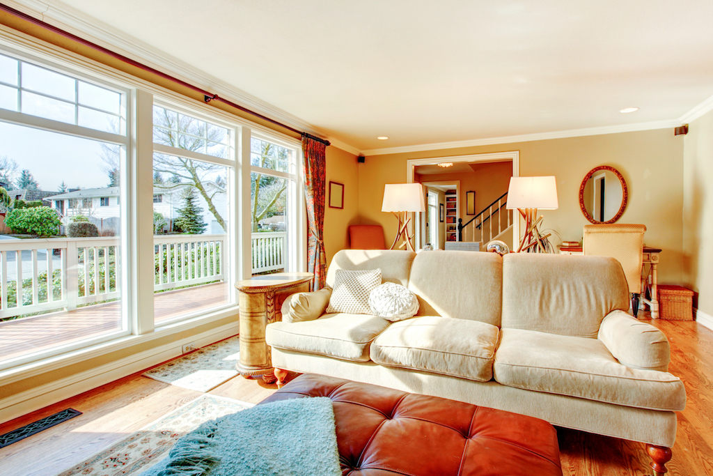 Home with warm colors tricks to make your home festive