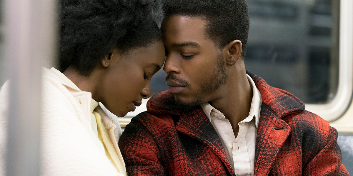 Stephan James and KiKi Layne in If Beale Street Could Talk (2018)