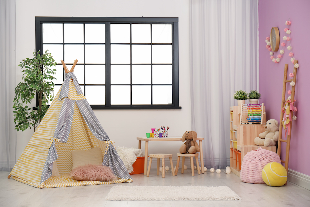 Kids Playroom Tricks for hiding children's toys