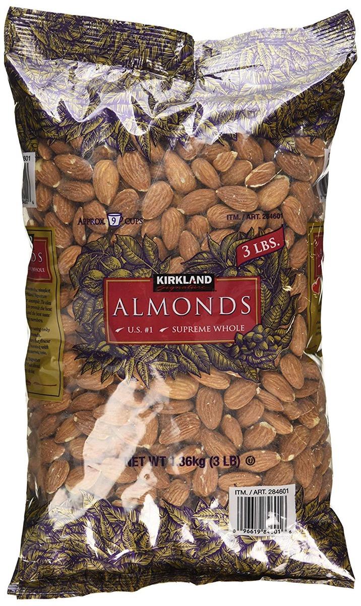 Kirkland Almonds {Costco Store-Brand}