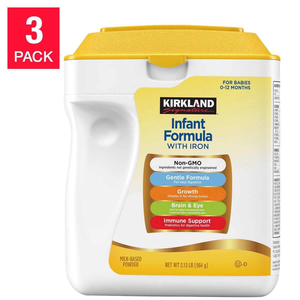 Kirkland Infant Formula {Costco Store-Brand}