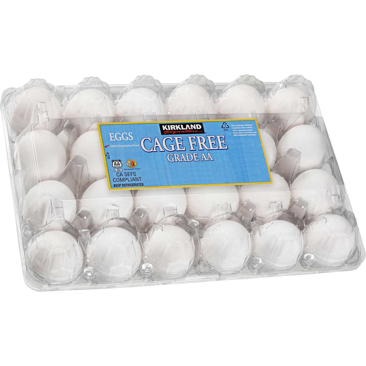 Kirkland Costco Eggs {Costco Store-Brand}
