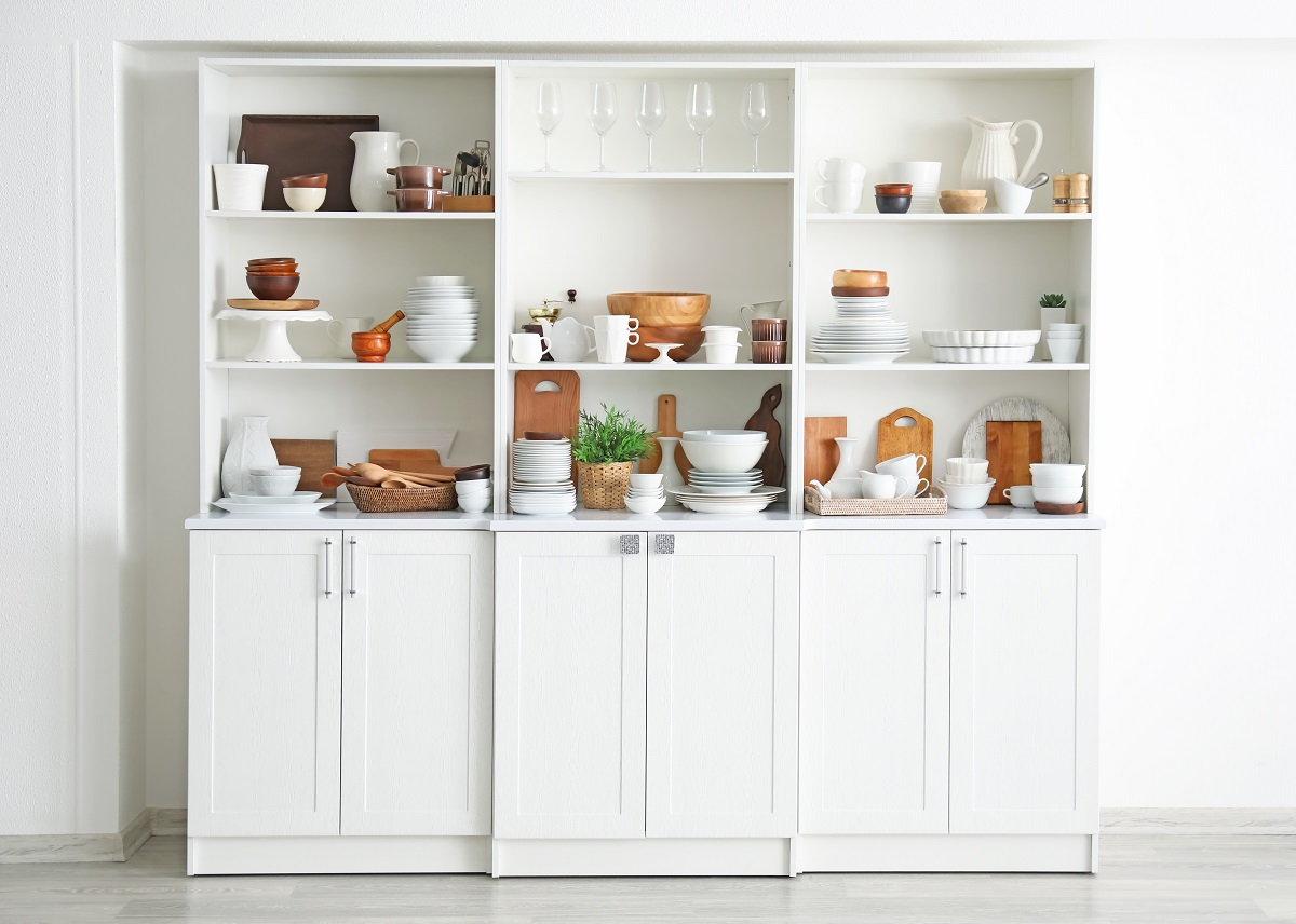 Kitchen storage Affordable ways to remodel your home