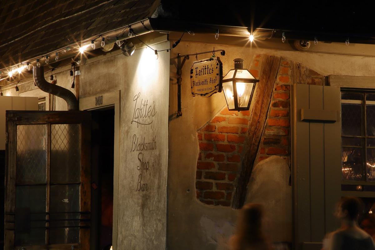 lafitte blacksmith shop new orleans louisiana