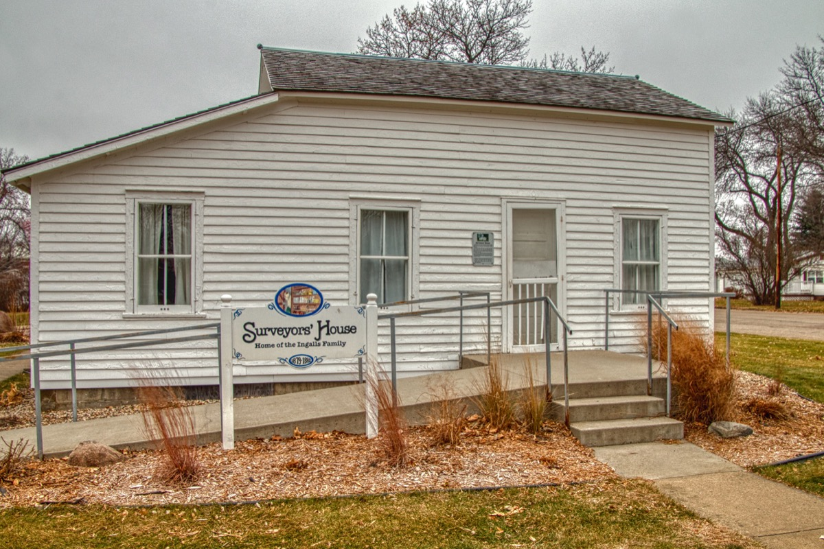 De Smit, South Dakota,USA 11-26-18 De Smit, South Dakota is home of a Laura Ingalls Wilder Memorial from when She lived in the Area - Image