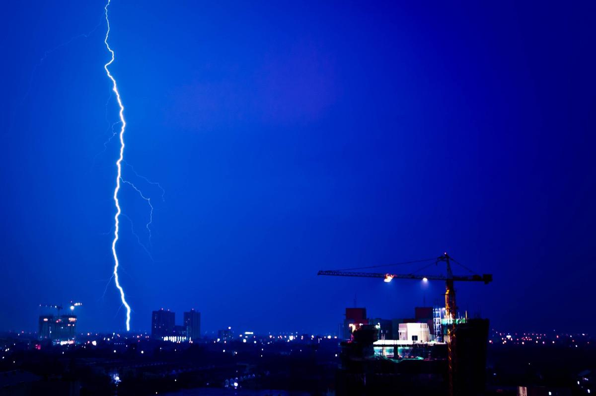Strike of lightning - Image