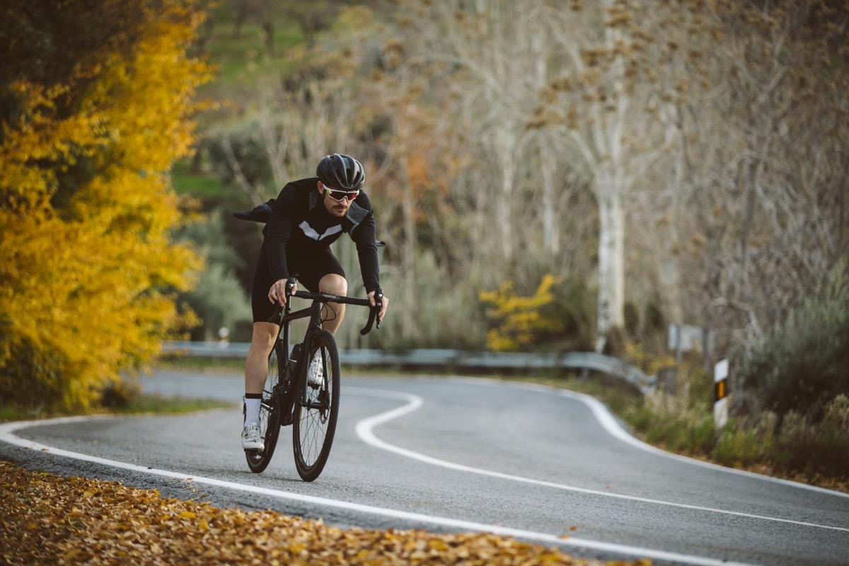 Man Biking on a Road Bike {Bad Walmart Bargains}