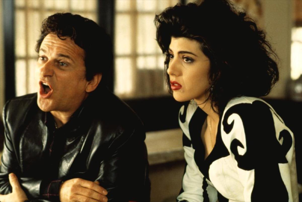 Still of Joe Pesci and Marisa Tomei in My Cousin Vinny (1992)