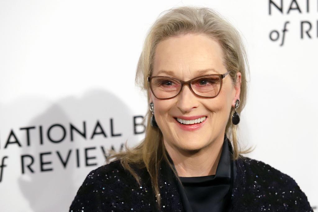 Meryl Streep oscar records, celebrity grandparents