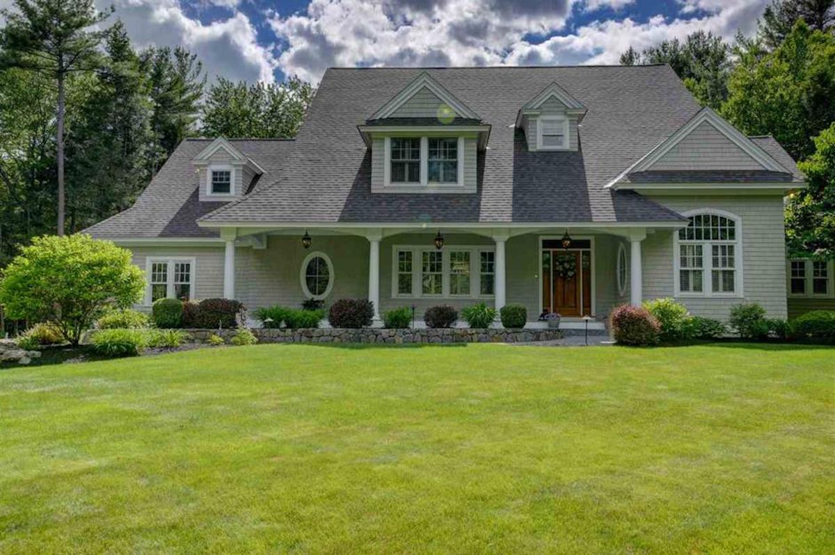 Modern Cape Cod Home New Hampshire most popular house styles