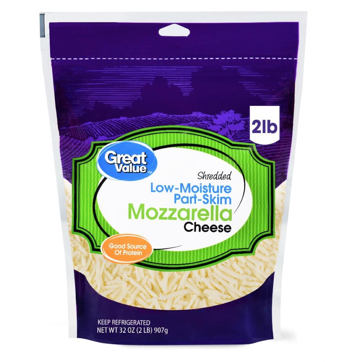Walmart Great Value Mozzarella