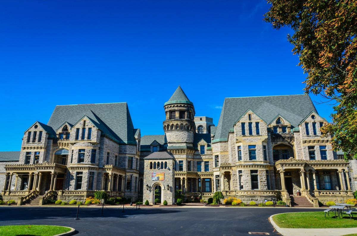 ohio state reformatory house in mansfield, ohio