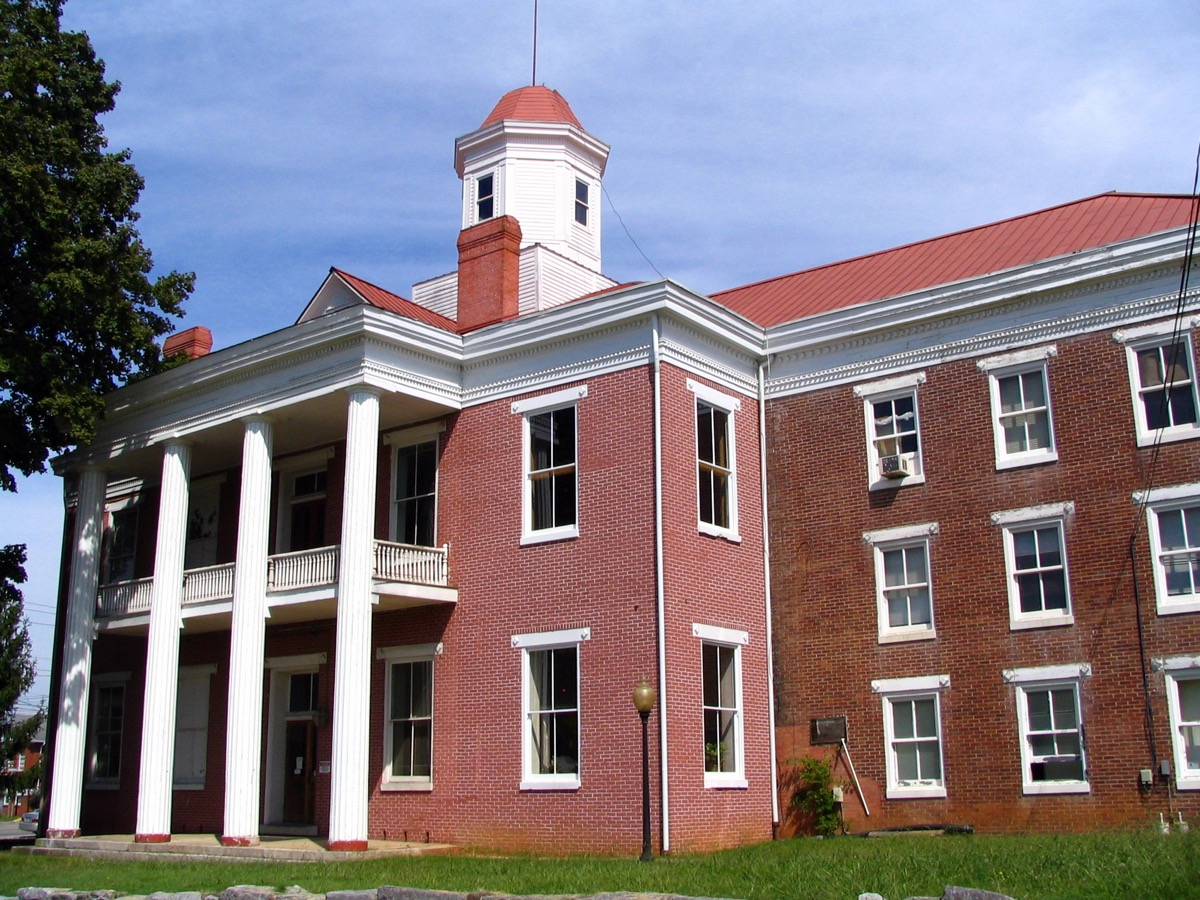 old roane county courthouse kingston tennessee